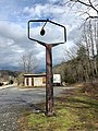 Old HJ Davis Phillips 66 Service Station Sign, Whittier, NC (45726693795).jpg