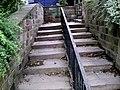 Old Steps Linking Shambles St. to Sackville St. - geograph.org.uk - 485956.jpg