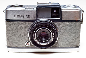 Olympus Pen - The first Olympus Pen, 1959
