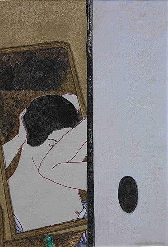 Kōshirō Onchi - Image: Onchi v d Spiegel