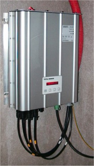 Grid-tie inverter - Inverter for grid-tied solar panel