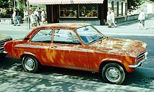 Opel Ascona - Image: Opel Ascona 2 d Interlaken 1972