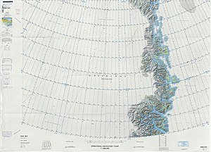 Shannon Island - Map of Northeastern Greenland