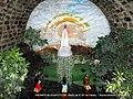 Oratório no Pátio da Matriz de N. Srª de Fátima - Rocha Sobrinho - Mesquita - panoramio.jpg