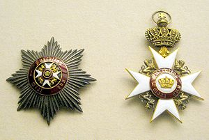 Order of the Crown (Württemberg) - Star and badge