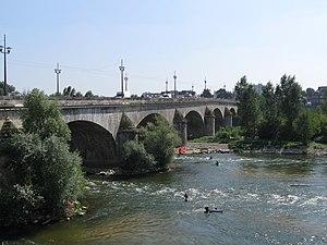 George V Bridge, Orléans - Image: Orléans pont George V 1