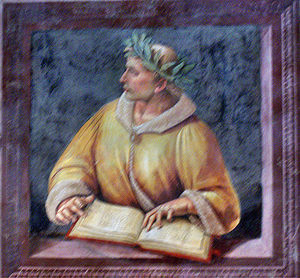 """Ovid"" by Luca Signorelli and his sc..."