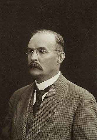 Ossian Aschan - Ossian Aschan in 1922.