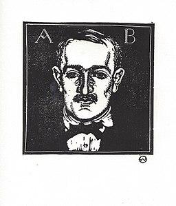 Otto Wirsching - Porträt Dr. Albin Alfred Bäumler. 1914