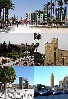 Oujda City in Oriental, Morocco