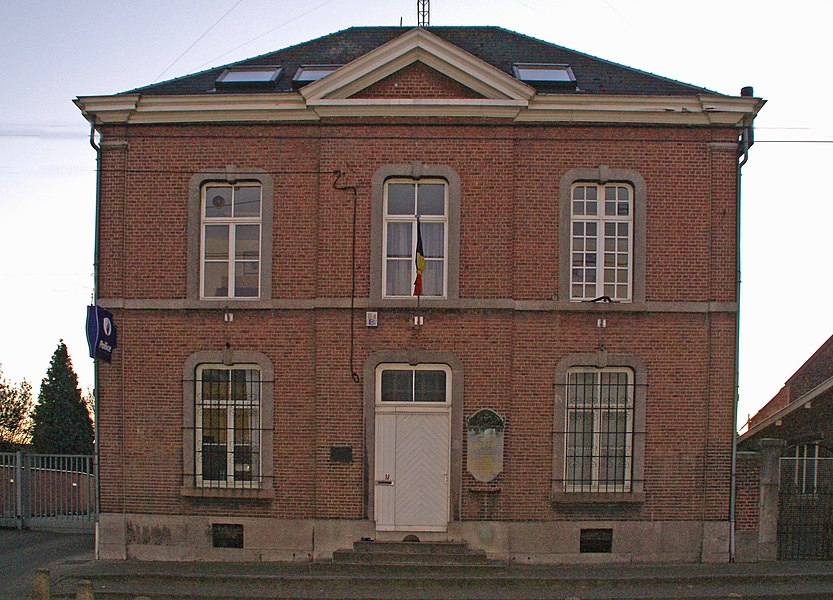 Oupeye (Belgium): former Town Hall – Police Station