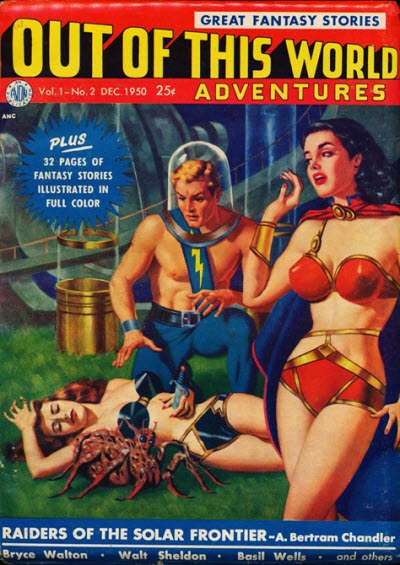 Out of This World Adventures December 1950