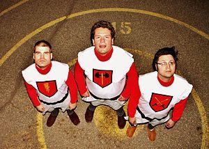 Outlaws of Ravenhurst - Dan D'Agostino, Gabe Antal, and Ken Murdoch  photo courtesy of Sam Flynn, 2013