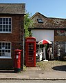 Outside Avebury post office - geograph.org.uk - 1346085.jpg