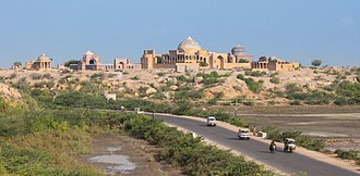 Makli Necropolis - The site is located on the outskirts of Thatta.