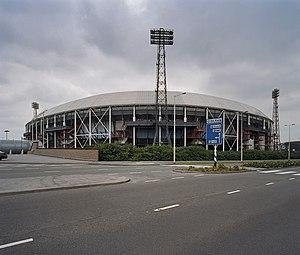 1981–82 European Cup - Image: Overzicht vanaf de straat Rotterdam 20349851 RCE