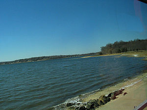 Oyster Bay (hamlet), New York - A beach in Oyster Bay