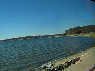 Oyster Bay (hamlet), New York - A beach in Oyster Bay