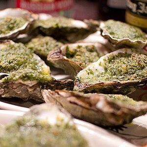 Louisiana Creole cuisine - Oysters Rockefeller