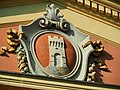 Ozzano-Palazzo municipale-Stemma.jpg