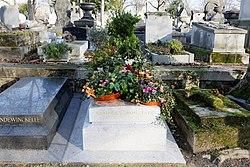 Tomb of Georges Moustaki