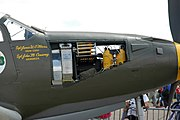 P-39Q Airacobra weapons bay