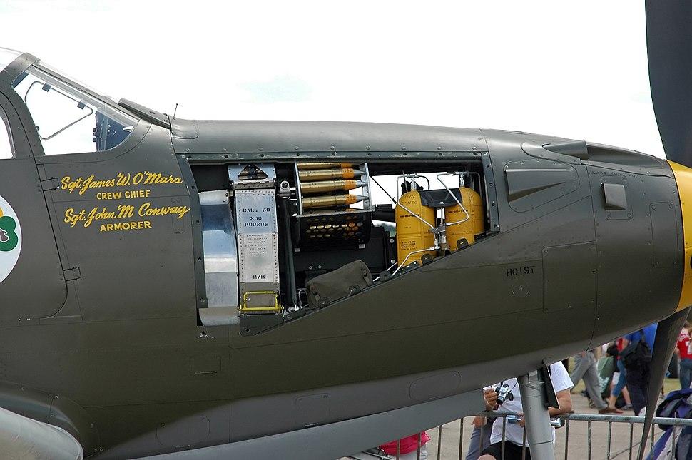 P-39Q Airacobra weapons bay