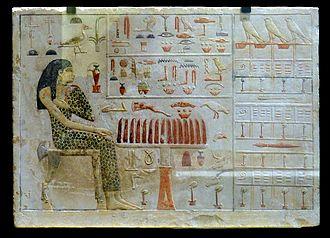 Slab stela - Slab stela of Nefertiabet.