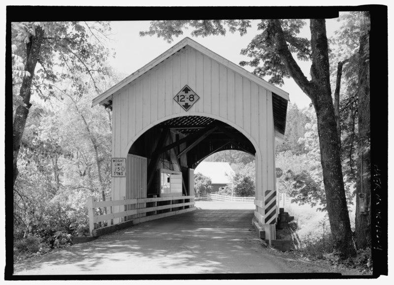 File:PERSPECTIVE VIEW OF NORTHEAST ELEVATION - Neal Lane Bridge, Spanning South Myrtle Creek, Neal Lane (CR 124), Myrtle Creek, Douglas County, OR HAER OR-126-4.tif