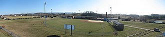 Patrick Henry High School-Glade Spring - View of Patrick Henry's athletic fields