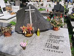 Grób rodziny Cybulskich w Katowicach