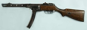 PPSh-41 - A 1942 PPSh-41 with a box magazine
