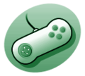 P videogame controller green.png