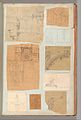 Page from a Scrapbook containing Drawings and Several Prints of Architecture, Interiors, Furniture and Other Objects MET DP372136.jpg