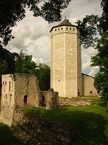 Teutonic Order castle in Paide, Estonia.