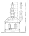 Palatine Church, State Route 5, Nelliston, Montgomery County, NY HABS NY,29-NEL.V,1- (sheet 4 of 12).png