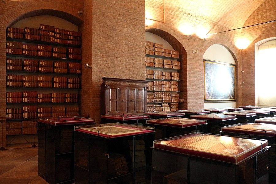 Palazzo salimbeni, archivio del monte dei paschi di siena, 01