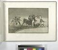 Palenque de los moros hecho con burros para defenderse del toro embolado (NYPL b14923841-1109423).tiff
