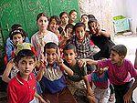 Crian�as palestinas em Jenin