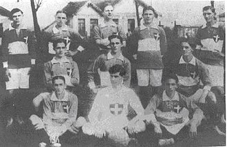 Sociedade Esportiva Palmeiras - Photo of Palestra Italia in 1916