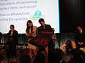 PaleyFest 2011 - The Walking Dead panel - Sarah Wayne Callies and Jon Bernthal sign for fans (5499989303).jpg