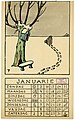 Pallieter Kalender voor 1926 - Januarie, Felix Timmermans, 1925, prent, Letterenhuis (Antwerpen) - tg lhpr 8013.jpg