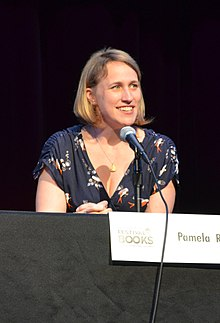 Pamela Ribon at the Los Angeles Times Festival of Books in 2012