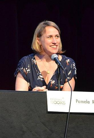 Pamela Ribon - Pamela Ribon at the Los Angeles Times Festival of Books in 2012