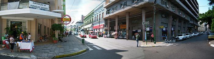 Vista panorámica de calle Palma.
