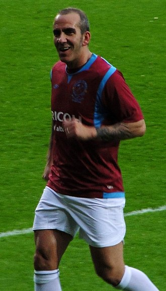Paolo Di Canio - Di Canio playing in Tony Carr's testimonial match in 2010