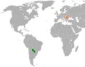 Paraguay Romania Locator.png