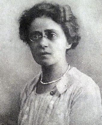 Parashqevi Qiriazi - teacher and feminist (1880–1970)