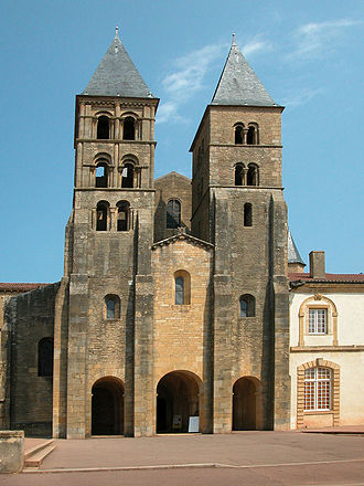 Paray-le-Monial - Sacré-Coeur church.