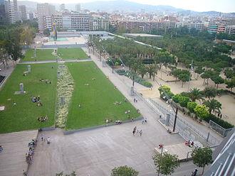 Dona i Ocell - The park
